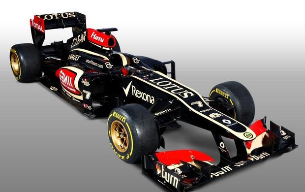 O novo carro da Lotus, para a temporada 2013.